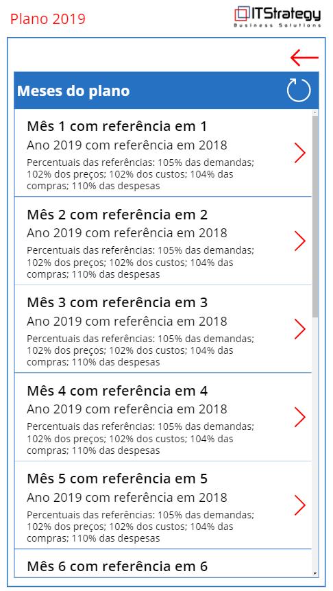 Planejamento estratégico pelo celular - premissas de versão