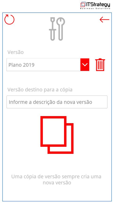 Planejamento estratégico pelo celular - gestão de versões